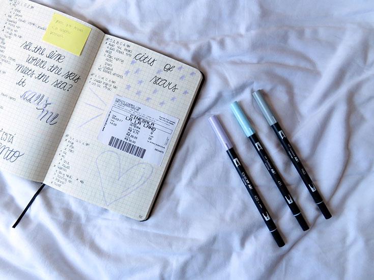 canetas bujo